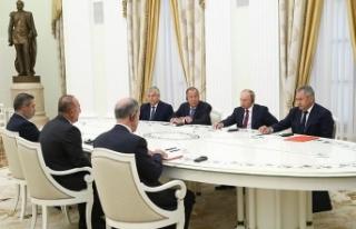 Putin'den Türkiye ile güçlü ilişkilere övgü