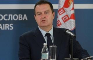 Sırbistan Dışişleri Bakanı Dacic: Sırbistan...