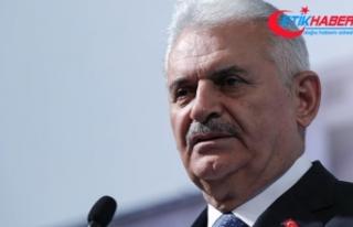 TBMM Başkanı Yıldırım: Türkiye'yi tehdit...