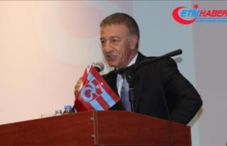 Trabzonspor Kulübü Başkanı Ağaoğlu: Beşiktaş,...