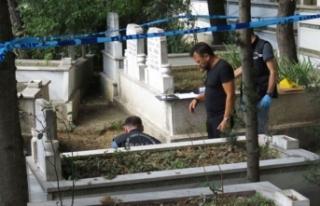 Ümraniye'de mezarlıkta cenin bulundu