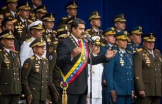 Venezuela Devlet Başkanı Maduro'ya bomba yüklü...