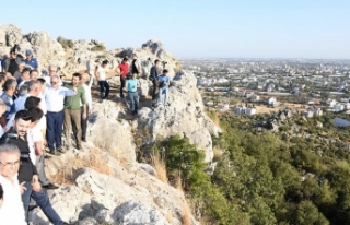 2 bin 200 yıllık 'zeytin kenti' gün yüzüne...
