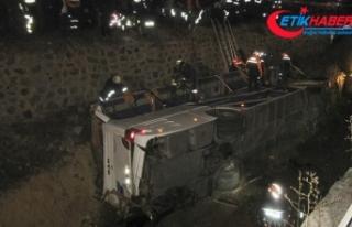 Afyonkarahisar'daki otobüs kazasında kahreden...