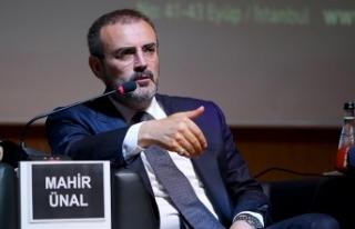 AK Parti Genel Başkan Yardımcısı Mahir Ünal:...