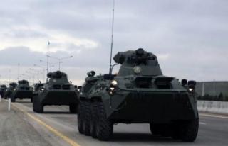 'Ermenistan ordusu, Azerbaycan topraklarından...