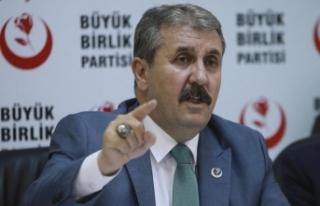 BBP Genel Başkanı Destici: Türkiye'nin oradan...
