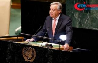 BM Genel Sekreteri Guterres'ten dünya liderlerine...