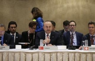 Çavuşoğlu BM'de Suriye oturumunda konuştu