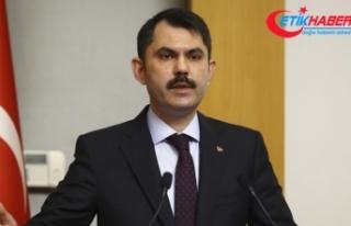 Çevre ve Şehircilik Bakanı Kurum'dan 'konut'...