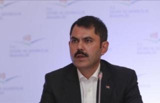Çevre ve Şehircilik Bakanı Kurum: Kanal İstanbul...