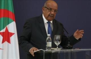 Cezayirli Bakan'ın BM'de Fransızca konuşmasına...