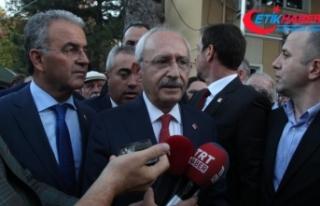 CHP Genel Başkanı Kılıçdaroğlu'ndan 'Enis...