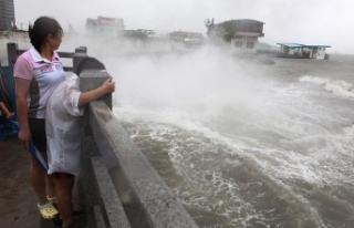 Çin'de tayfun: 4 ölü, 200'den fazla yaralı