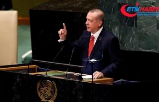 Cumhurbaşkanı Erdoğan, BM Genel Kuruluna hitap...