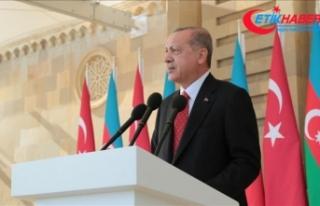 Cumhurbaşkanı Erdoğan'dan 'Yukarı Karabağ'...