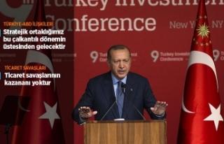 Cumhurbaşkanı Erdoğan: ABD ile stratejik ortaklığımız...