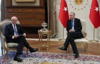 Cumhurbaşkanı Erdoğan BBVA Yönetim Kurulu Başkanı...