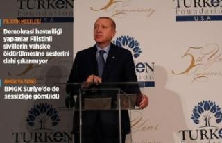 Cumhurbaşkanı Erdoğan: Fırat'ın doğusu için...