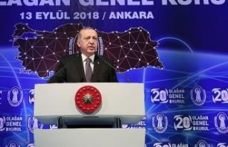 Cumhurbaşkanı Erdoğan: Kurdaki dalgalanmaya karşı...