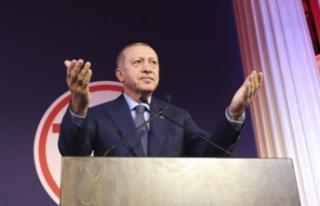 Cumhurbaşkanı Erdoğan: Suriye'nin içindeki...
