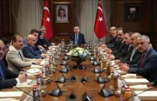 Cumhurbaşkanı Erdoğan Türkmen milletvekillerini...