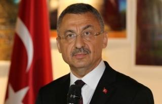 Cumhurbaşkanı Yardımcısı Oktay'dan Türk...