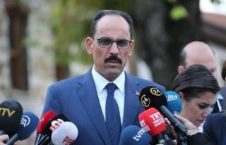 Cumhurbaşkanlığı Sözcüsü Kalın'dan İdlib...