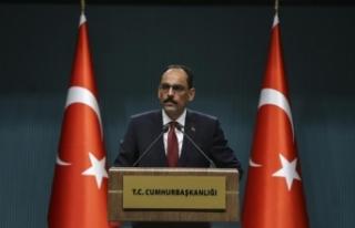 Cumhurbaşkanlığı Sözcüsü Kalın: İdlib için...