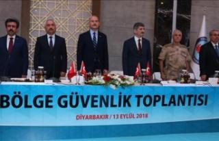 Diyarbakır'da 'Bölge Güvenlik Toplantısı'...