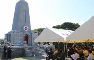 Ertuğrul Firkateyni şehitleri Japonya'da anıldı