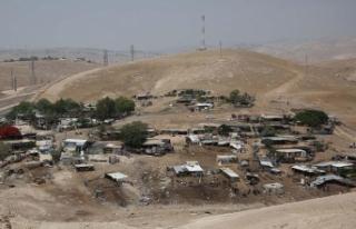 Filistin hükümetinden Han el-Ahmer'i koruma...
