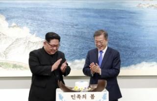 Güney Kore ile Kuzey Kore diyaloğu artırmak için...