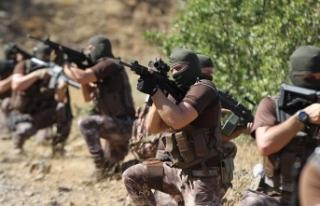 Hakkari'de etkisiz hale getirilen terörist sayısı...