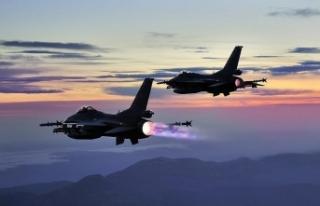 Irak'ın kuzeyine hava harekatı: 6 terörist...