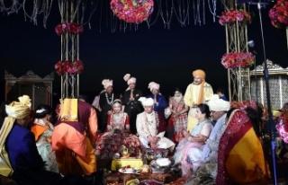 Hindistan'dan Türkiye'ye 'düğün'...