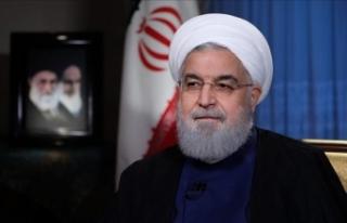 İran Cumhurbaşkanı Ruhani IMF Başkanı Lagarde...