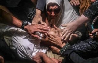 İsrail'in saldırılarında şehit olan Gazzeliler...