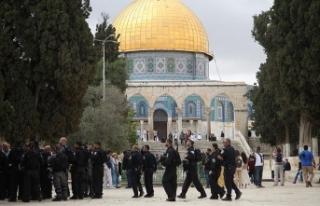 'İsrail Mescid-i Aksa'da hakimiyet kurmaya...