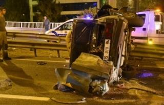 İzmir'de, aynı yerde peş peşe kaza; 1 ölü,...