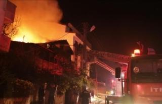 Kocaeli'de Suriyeli ailenin evinde yangın: 2...