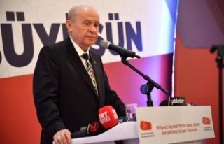 MHP Lideri Bahçeli: Kadın vatandır, kadın ülkedir,...
