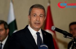 Milli Savunma Bakanı Akar'dan 'İdlib'...