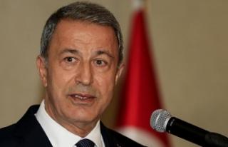 Milli Savunma Bakanı Akar: İdlib'de askeri...