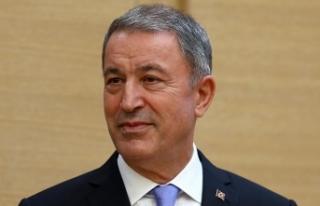 Milli Savunma Bakanı Akar'dan 'Münbiç'...
