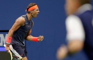 Nadal ABD Açık'ta adını yarı finale yazdırdı