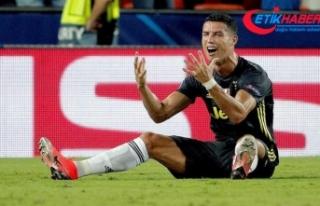 Ronaldo'ya bir maç ceza