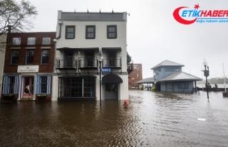 Şehir sular altında