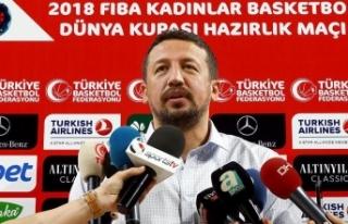 Türkiye Basketbol Federasyonu Başkanı Hidayet Türkoğlu:...