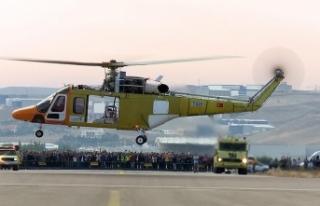 'Türkiye, kendi imkanlarıyla helikopter uçurabilen...